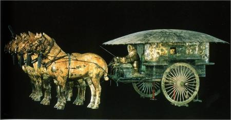 terracotta army chariot