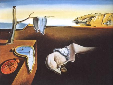 The Persistence of Memory.