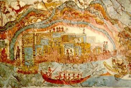 akrotiri fresco 3