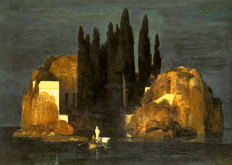 Bocklin isle of the dead basel