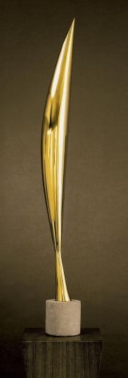 brancusi bird in space bronze