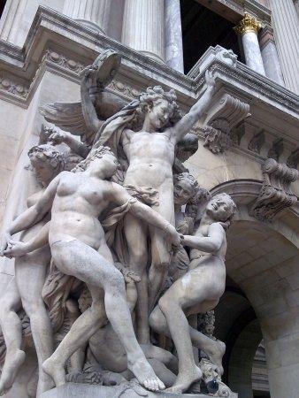 Carpeaux's The Dance was designed to adorn the XXX in Paris.