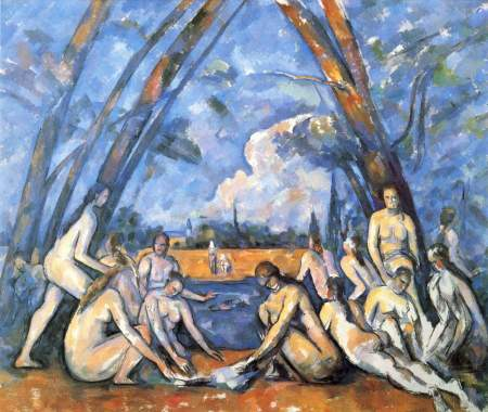 cezanne large bathers