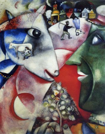 Chagall's I and the Village.