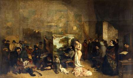 The Artist's Studio.