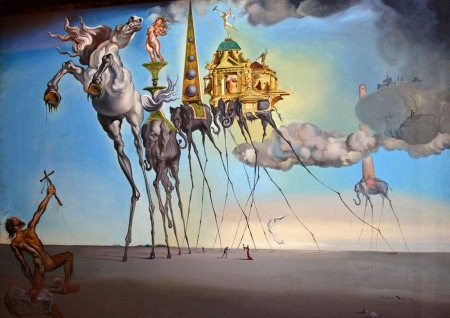dali-the-temptation-of-st-anthony