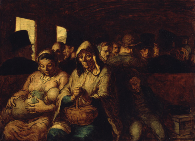 Daumier the_third_class_carriage