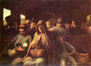 Daumier third class carriage canada