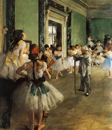 degas the dance class