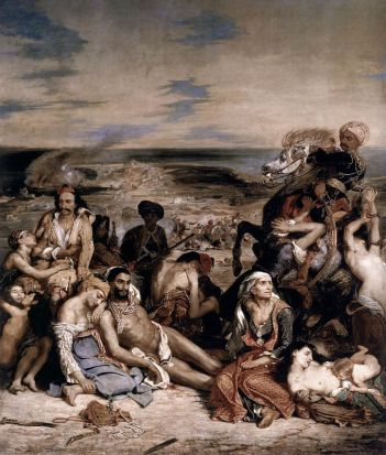 Delacroix_-_Massacre at Chios