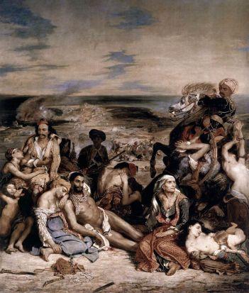 Delacroix_-_Massacre at Chios