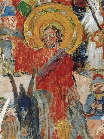 ensor christ's entry detail
