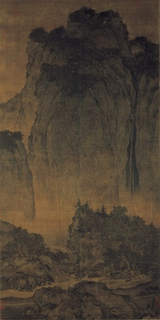 Fan Kuan's Travellers Among Mountains and Streams.