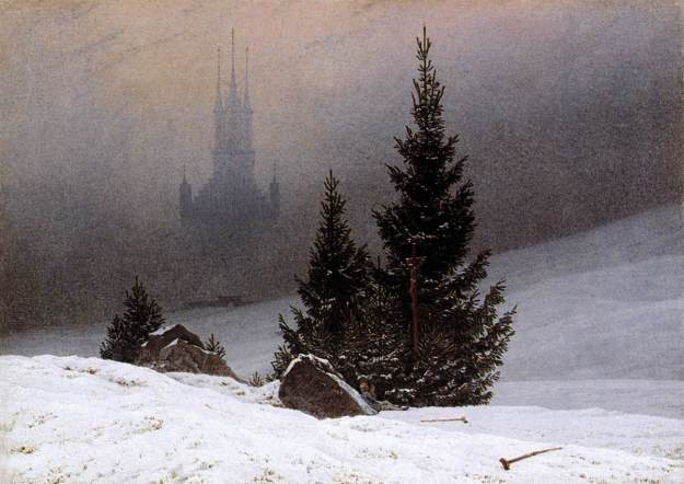 Friedrich_-_Winter_Landscape London