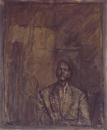 giacometti portrait of jean genet 2