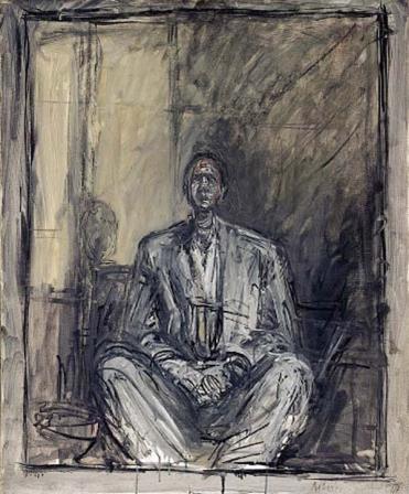 giacometti portrait of jean genet
