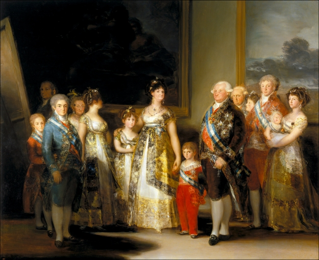 goya charles iv and family