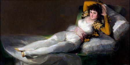 Goya's Clothed Maja.