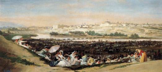 Goya The_Meadow_of_San_Isidro_on_his_Feast_Day