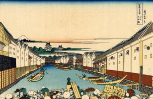 hokusai Nihonbashi_bridge_in_Edo