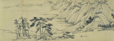 Detail from Dwelling in the Fuchun Mountains.