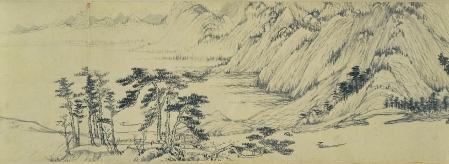 Huang_Gongwang._Dwelling_in_the_Fuchun_Mountains._detail._National_Palace_Museum,_Taipei