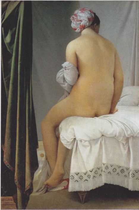 ingres valpincon bather
