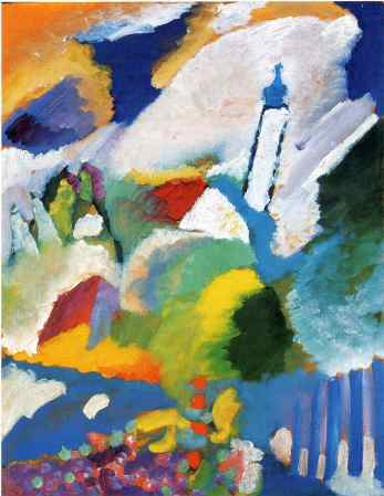 Kandinsky church in murnau