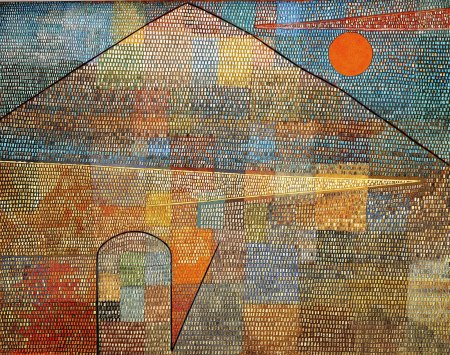 Klee; Ad Parnassum, 1932