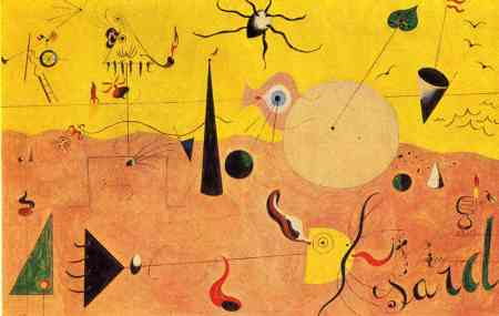 miro catalan-landscape-the-hunter-1924