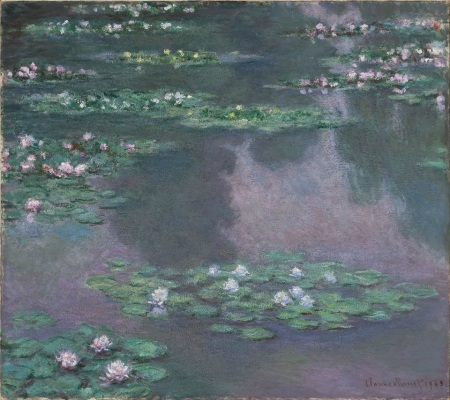 Monet 1905 Water Lilies Museum of Fine Arts, Boston MA