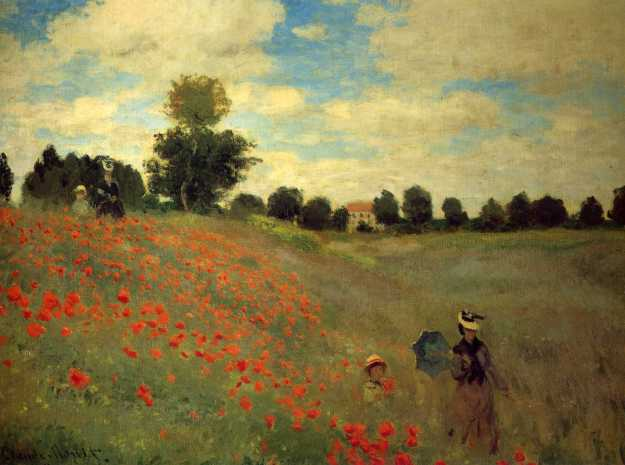monet wild-poppies-near-argenteuil-1873