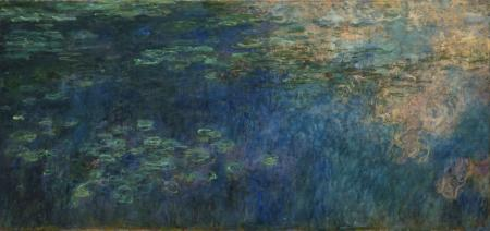 Monet_-_Reflections_of_Clouds_on_the_Water-Lily_Pond detail