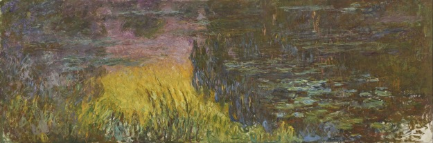 The Water Lilies: Setting Sun, by Claude Monet.