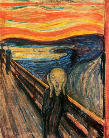 The Scream, by Edvard Munch.