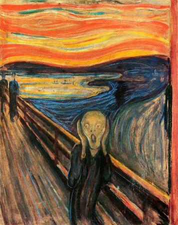 The Scream, by Edvard Munch.