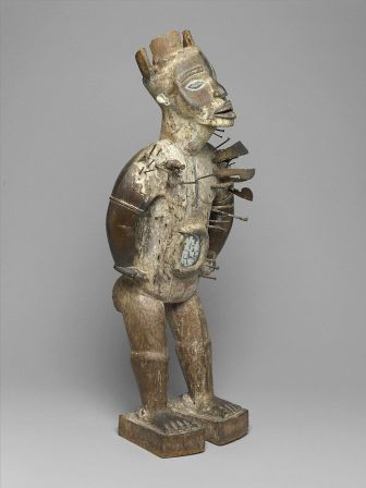 nkisi nkondi figure Brooklyn_Museum