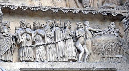 Reims Cathedral the damned