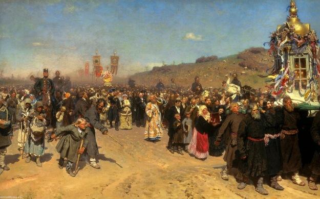 repin religious procession