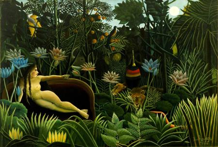 rousseau the dream