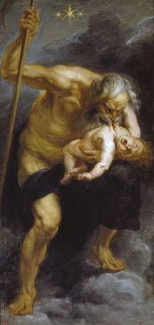 Rubens saturn devouring