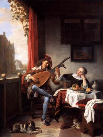 sorgh lute player
