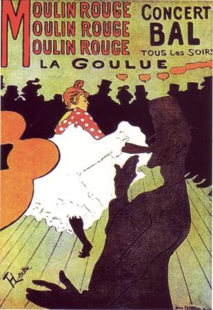 toulouse lautrec moulin rouge poster