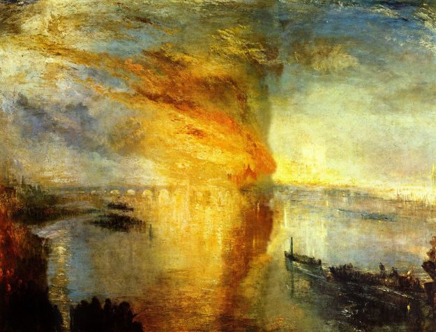 turner burning of the houses