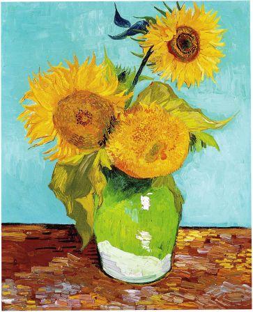 Van_Gogh_-_Three_Sunflowers