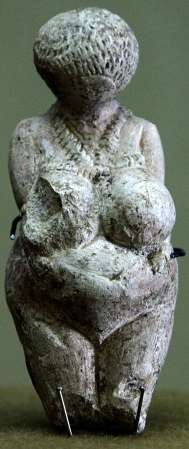 The Venus of Kostenki figurine.