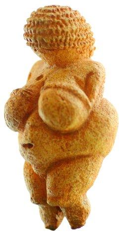 The Venus of Willendorf figurine.