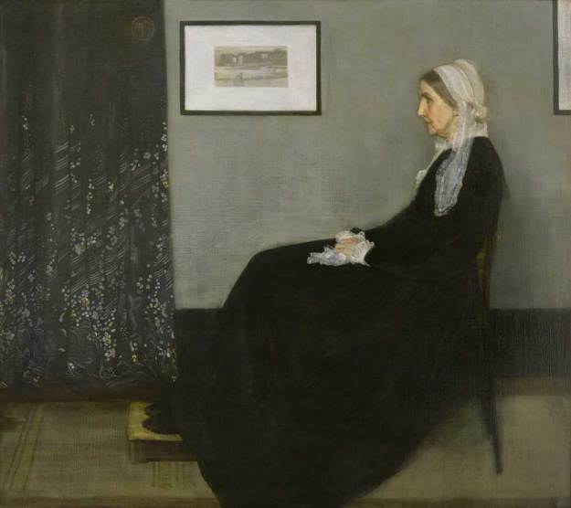 whistler the artist's mother
