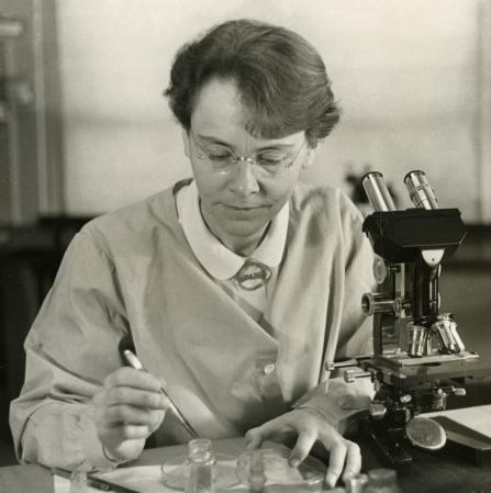 Barbara McClintock (1902-1992).