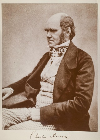 Photograph of Charles Darwin (1809-1882) in 1859.